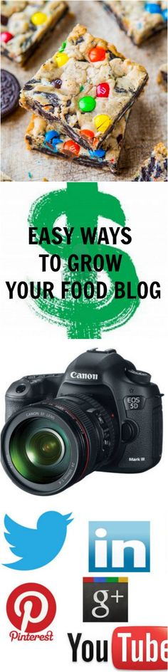 Easy Ways to Grow Your Food Blog - Easy, free, tips & tricks to bring readers to your site!