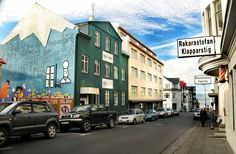 Reykjavik, Iceland - such a colorful & design oriented city! beersandbeans.com