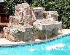 Cascada para piscina!!