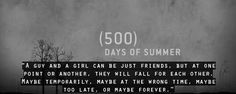 500 days of summer quotes The Words, 500 Days Of Summer Quotes, Favorite Quotes, Best Quotes, Favorite Things, Wild Quotes, Awesome Quotes, Famous Quotes, Culture Pop