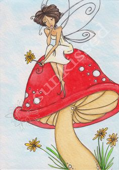 Fairy Thoughts Watercolor