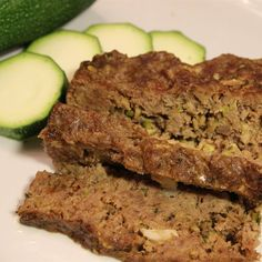 Grated zucchini gives this meatloaf great texture.