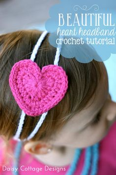 The perfect Valentine's Day gift to crochet for the little ladies in your life! Super quick and easy crochet pattern!