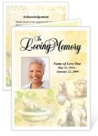O Invitation Templates  Memorial Service Ideas
