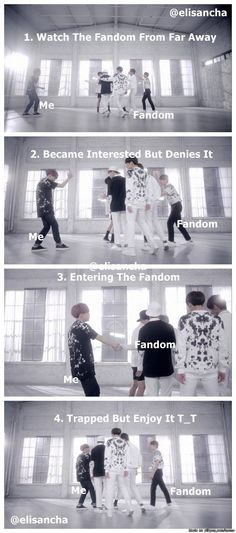 Stages of joining fandom
