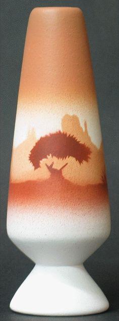 """Navajo Lifestyles Pottery - Bud Vase.  2"""" x 6"""". $23.95"""