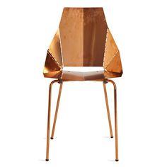 Copper Real Good Chair – Modern Designer Chairs | Blu Dot