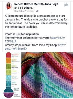 Temperature Blanket