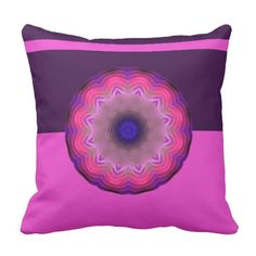 Mandala Throw Pillow by www.zazzle.com/htgraphicdesigner* #zazzle #mandala #pillow #abstract #gift #gifttidea #cushion