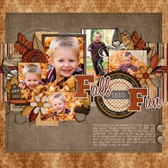 Fall into Fun - Scrapbook.com