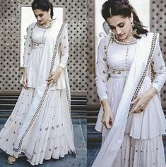Gown Party Wear, Party Wear Indian Dresses, Salwar Suits Party Wear, Designer Party Wear Dresses, Indian Gowns Dresses, Indian Fashion Dresses, Dress Indian Style, Indian Designer Outfits, Party Wear Sarees