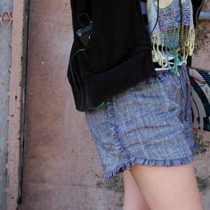 sew knit me: ruffle shorts tutorial