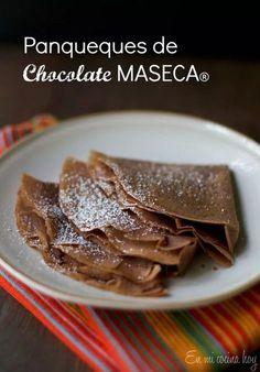 Maseca Chocolate Crepes, gluten-free option.