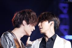Lay and Donghae