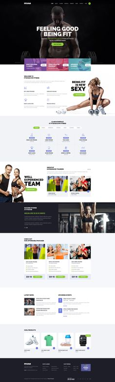 Fit & Fab Gym and Fitness PSD Template - Download theme here : http://themeforest.net/item/fit-fab-gym-and-fitness-psd-template/13480221?ref=pxcr