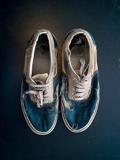 trasig sko