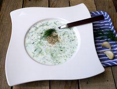 #letnérecepty #polievky #Bulharskákuchyňa #jogurt #summerrecipes #soup #Bulgariancuisine #yoghurt