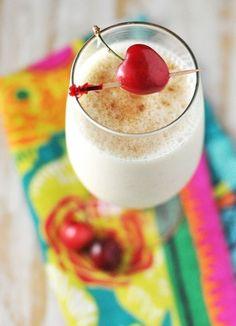 Banana Foster Milkshake with Rum