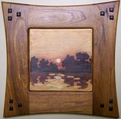 Stone Hollow Tile - Framed Landscape