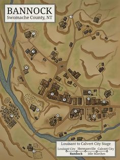 Fantasy City Map, Fantasy Town, Key West Map, Village Map, Urban Village, Old West Town, Red Right Hand, Charles Town, American Frontier