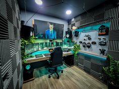 Best Ergonomic Chair Computer Gaming Room, Gaming Room Setup, Desk Setup, Gaming Chair, Cool Gaming Setups, Gaming Rooms, Home Office Setup, Home Office Design, House Design