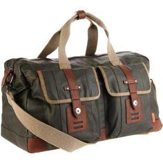 Duffle bag. WANT. Fossil.com