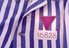 The purple triangle, worn by Jehovah's Witnesses imprisoned in concentration camps during the Nazi regime.