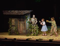 Danielle Bowen stars as Dorothy in the St. Wizard Of Oz Musical, Musical Theatre, Land Of Oz, Yellow Brick Road, St Louis, Theater, Musicals, Stage, It Cast