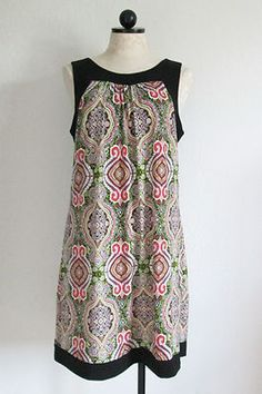 STYLE & CO. Multi Color Boho Hippie Sleeveless Dress- M $35