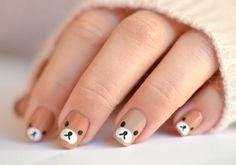 Nail Art Designs 💅 - Cute nails, Nail art designs and Pretty nails. Baby Nail Art, Nail Art For Kids, Baby Nails, Cute Nail Art, Nail Art Diy, Cute Nails, Art Kids, Dog Nail Art, Kawaii Nail Art