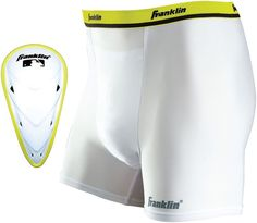 Franklin Sports Adult Flexpro Compression Shorts and Cup