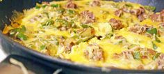 Omelete indiana | O que há para comer ?