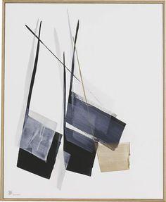 游 PLAY / 750×610mm / 墨、金泥、銀泥、和紙 Sumi,Gold Paint,Silver Paint on Paper / 1999