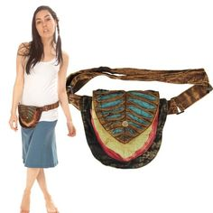 Silly yogi peter pan fanny pack-Multi-One size