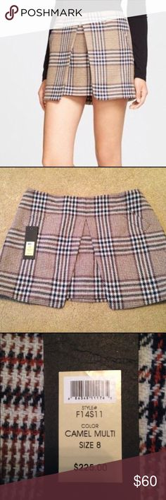 Rachel Zoe plaid skirt Like new Rachel Zoe size 8 skirt. Worn only once and no signs of wear. Skirts Mini