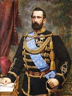 My great-great-great grand father, The King of Sweden (Yes, I'm a noble bastard, or a true love child if you will...)