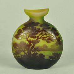 Landscape Vase ~ Emile Galle
