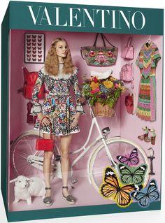 Элизабет ERM, Магдалена Фронцковяк Джампаоло Sgura для Vogue Paris декабрь-январь 2014-2015 3