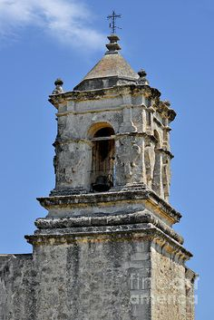'Bell Tower Mission San Jose TX' Photograph by Christine Till Fine Art Prints for Sale at http://fineartamerica.com/featured/bell-tower-mission-san-jose-tx-christine-till.html and at http://pixels.com/featured/bell-tower-mission-san-jose-tx-christine-till.html NEW! Now 'Bell Tower Mission San Jose TX' can also be commercially licensed at http://licensing.pixels.com/featured/bell-tower-mission-san-jose-tx-christine-till.html