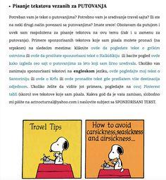 USLUGE PISANJA I OGLAŠAVANJE http://www.actnocturnal.com/usluge-pisanja-i-oglasavanje/