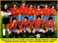 SELECCIÓN DE ESPAÑA 1983-84