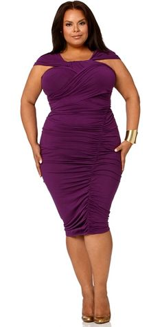 "The ""Marilynn"" Ruched Convertible Dress-I could use this for so many things!!!"