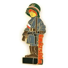 A fridge magnet showing the Monument of the Little Insurgent. Warsaw Uprising, Large Fridge, 3d Shapes, Magnets, 3d Printing, Old Things, In This Moment, Holiday Decor, Metal
