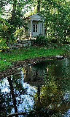 Idyllic English Park at Katrinetorps Gård (Katrin's Garden) in Malmo, Sweden • photo: Peter Carlsson on Master Henriks Blogspot • more at: http://www.malmo.se/Medborgare/Idrott--fritid/Natur--friluftsliv/Natur--och-rekreationsomraden/Katrinetorp/Park-och-tradgardar.html