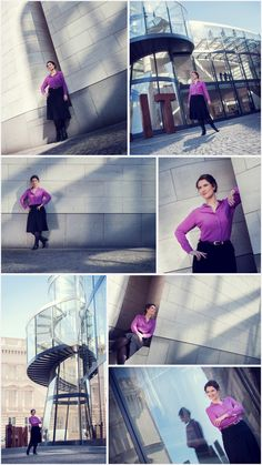 Business Photoshoot outdoor #architecture #businesswoman #photography