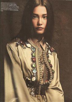 Juliana Lmai for L'Officiel Morocco