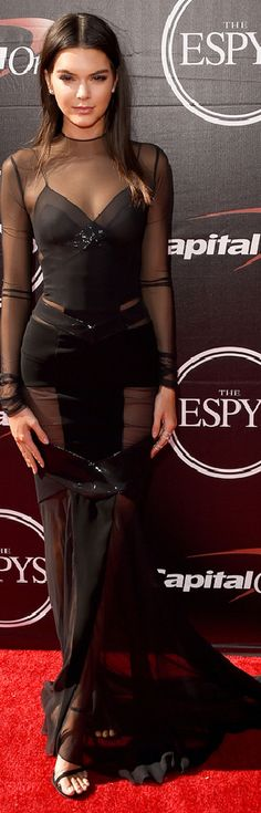Kendall Jenner in Alexandre Vauthier Haute Couture at the 2015 ESPY Awards