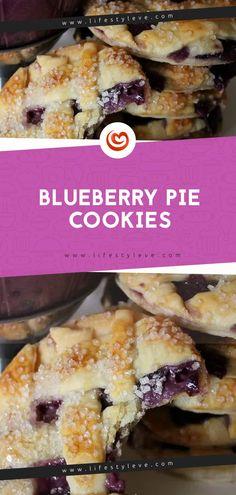 Blueberry Pie Cookies - Eve LifeStyle