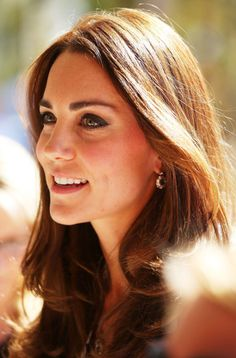 Catherine, Duchess of Cambridge arrives at the Winmalee Guide Hall on April 17, 2014 in Winmalee, Australia.