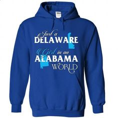A DELAWARE-ALABAMA girl Blue02 - #black tshirt #hoodie quotes. ORDER NOW => https://www.sunfrog.com/States/A-DELAWARE-2DALABAMA-girl-Blue02-RoyalBlue-Hoodie.html?68278